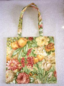 sac shopping le verger motifs fleurs