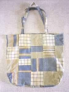 sac shopping motifs patchwork