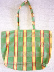 sac shopping motifs carreaux