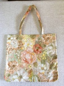 sac shopping motifs fleuris