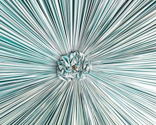 plissé solaire bleu